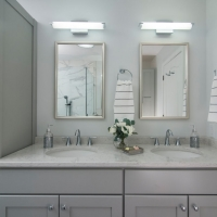 West Chester Master Bath - His & Hers Sinks