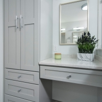 West Chester Master Bath - Hair & Makeup Vanity